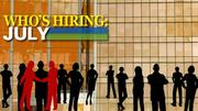 Bonus slideshow: Click here to see how August's hiring compared to July.