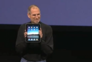 2010 – Jobs introduces the iPad  In 2010, Jobs introduced the iPad, an entirely new class of device, at MacWorld Expo 2010.