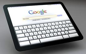 Google mobile tablet
