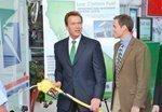 Schwarzenegger pumps up Propel Fuels