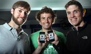Mountain View-based Bump Technologies founders, from left, David Lieb, Jake Mintz and Andy Huibers won the Silicon Valley/San Jose Business Journal Emerging Technology Award for Mobile.