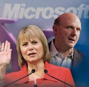 """July 2009- Yahoo outsources search to Microsoft In July, Yahoo announced with Microsoft CEO Steve Ballmer that it would use the software giant's Bing search engine to complete searches initiated from its website, as opposed to its own Yahoo search engine. This was in keeping with Bartz' vision for the company, which was not a search engine but rather """"people's home on the Web."""""""