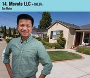 Online real estate site Movoto was the 14th fastest-growing company on this year's list. Shown is CEO Henry Shao.