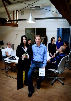 Houzz founders Adi Tatarko and Alon Cohen