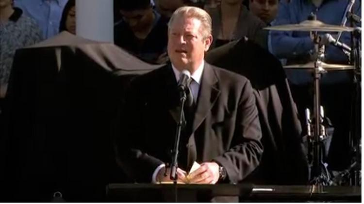 Al Gore used options he was awarded as an Apple Inc. board member to buy 59,000 shares for $7.475 each.