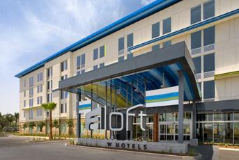 Starwood Hotels & Resorts Worldwide said its new brand, Aloft Hotels, is expected to open a location in Cupertino in early 2013.