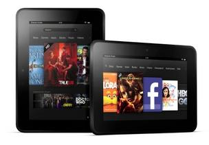 The new Kindle Fire HD.