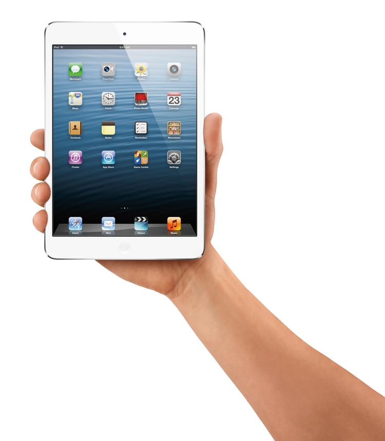 At 7.9 inches and sporting a $329 starting price, Apple's new iPad mini is a bit larger and more expensive than was expected.
