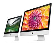 Apple unveiled new, thinner iMacs on Tuesday, beginning at $1,299.