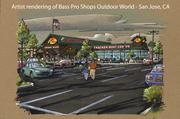 A rendering for the San Jose Bass Pro location.