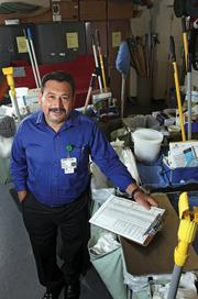 Carlos Benitez , a supervisor in the environmental services department at Good Samaritan Hospital, was named the Judge's Choice Winner in the Business Journal's Health Care Heroes awards for his work with The Flying Doctors to bring free medical care to Central America.