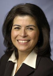 Laura Casas Frier has been elected vice president of the Foothill-De Anza Community College District.