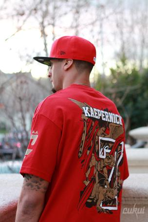 49ers Quarterback Colin Kaepernick http://www.popularnewsupdate.com