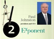 No. 2: Exponent Inc.  Address: 149 Commonwealth Drive, Menlo Park 94025  Total number of licensed engineers in Silicon Valley: 53  Top local executive: Paul Johnston, president and CEO
