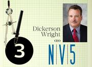 No. 3: NV5 (tie)  Address: 2025 Gateway Place, Suite 156, San Jose 95110  Total number of licensed engineers in Silicon Valley: 45  Top local executive: Dickerson Wright, CEO