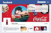 This is Coca-Cola's new Facebook Page, with the Timeline look that all businesses are expected to switch to by March 30.