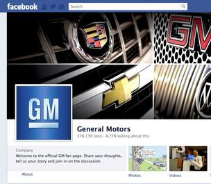 GM Facebook site