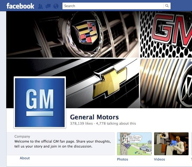 GM reportedly has decided that buying ads on Facebook isn't helping but taking advantage of free marketing available on the social network does.