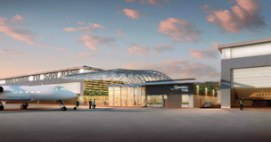 An example of what Signature's $82 million general aviation facility could look like.