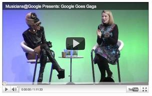Lady Gaga and Marissa Mayer