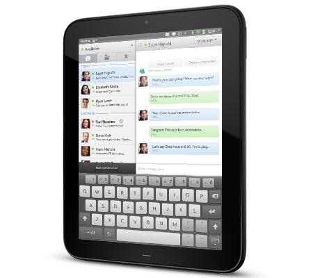 Hewlett-Packard has launched its TouchPad device as it tries to get into the market tablet pioneered by Apple's iPad.