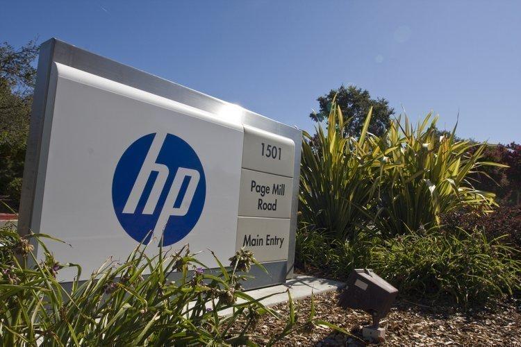 Second quarter earnings at Hewlett-Packard fell 11 percent.