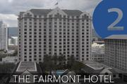 No. 2: The Fairmont Hotel San Jose  Address: 170 S. Market St., San Jose 95113 Number of sleeping rooms in Silicon Valley: 727  General manager: Kelley Cosgrove