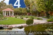 No. 4: San Jose Airport Garden Hotel  Address: 1740 N. First St., San Jose 95112 Number of sleeping rooms in Silicon Valley: 512  General manager: Vijay Bhatia