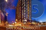 No. 5: San Jose Marriott   Address: 301 S. Market St., San Jose 95113 Number of sleeping rooms in Silicon Valley: 506  General manager: Robert Thomas