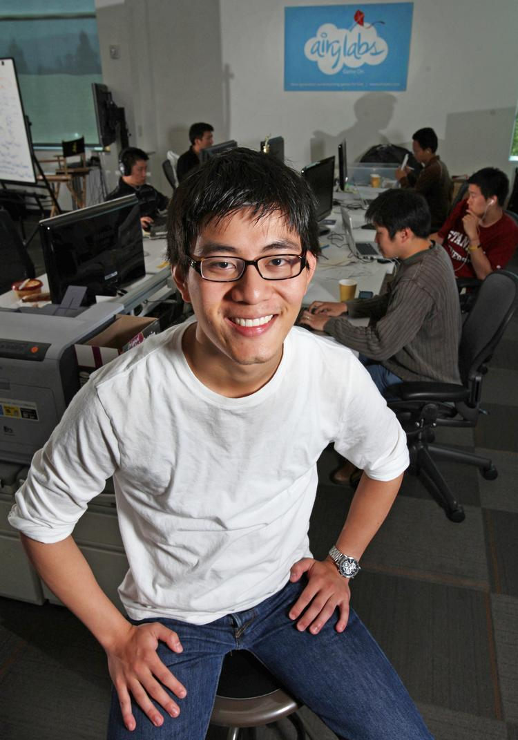 Andrew Hsu of Airy Labs is one of 2011's Silicon Valley 40 Under 40 honorees.