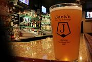 Our readers chimed in on Twitter with some of their favorite beer bars and breweries in the area. Here's what they recommended:Jack's Neighborhood Bar + Lounge(pictured above): 167 E. Taylor St., San JoseRose and Crown: 547 Emerson Ave., Palo AltoWine Affairs: 1435 The Alameda, San JoseGood Karma Cafe: 37 S. First St., San JoseGordon Biersch: 33 East Fernando St., San JoseFaultline Brewing Company: 1235 Oakmead Parkway, SunnyvaleTied House Brewery and Cafe: 954 Villa St., Mountain ViewRock Bottom Restaurant and Brewery: 1875 S. Bascom Ave., CampbellHarry's Hofbrau: 390 Saratoga Av., San Jose (with additional locations in the Bay Area)