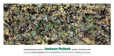 """Stanford University has been given a collection of abstract art that is valued at more than $100 million including """"Lucifer,"""" a 1947 painting by Jackson Pollock."""