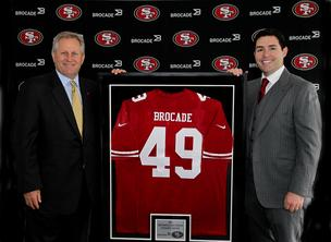 NFL, Brocade, San Francisco 49ers