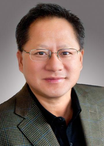Jen-Hsun Huang leads Santa Clara's Nvidia Corp., which is releasing its fourth-quarter earnings on Wednesday.