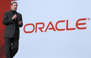 Oracle Corp. boss Larry Ellison.