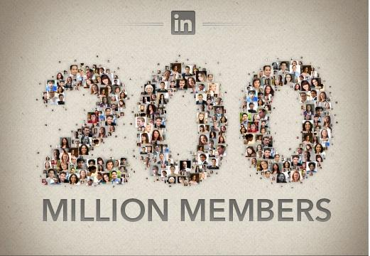 LinkedIn posted an infographic to  announce that it now has 200 million members using its professional  network. Click through the photo gallery to see enlarged views.