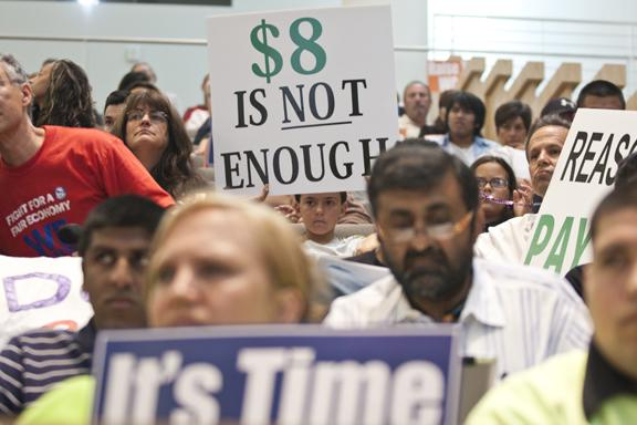 San Jose voters will decide in November whether to raise the minimum wage to $10 an hour and require cost-of-living increases every year.