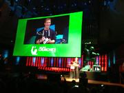 Facebook CEO Mark Zuckerberg won CEO of the Year at the Crunchies.