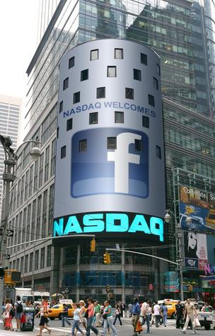 Nasdaq welcomes Facebook in New York