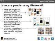 Slide 7 of U.S. Army primer on Pinterest.