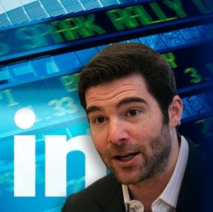 LinkedIn's stock continued falling Friday morning after taking a big hit Thursday due to weak guidance for the second quarter in its earnings report.
