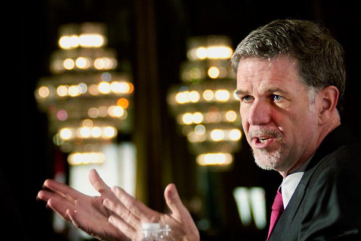 Netflix CEO Reed Hastings is attempting an all-you-can-eat approach to TV viewing.