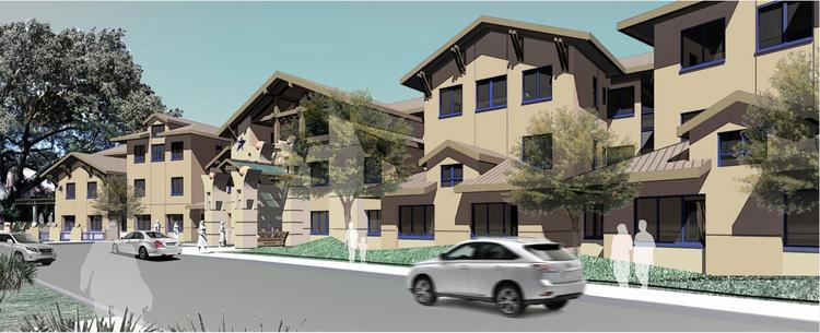 The new facility will provide 69 new private guestrooms at the Ronald McDonald House in Palo Alto.