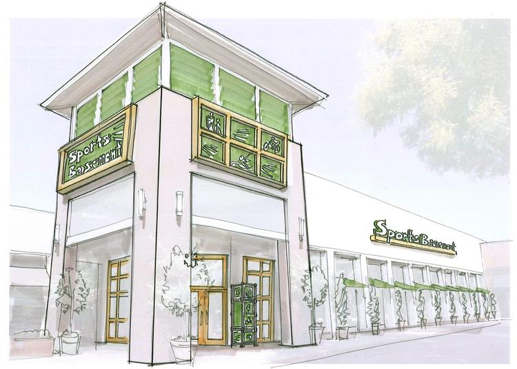 Big retail lease: Sports Basement is taking more than 40,000 square feet at Campbell's Pruneyard -- and hopes to be open in March.