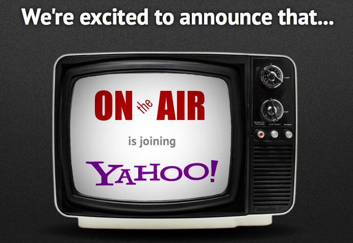 OnTheAir's website posted this announcement today.