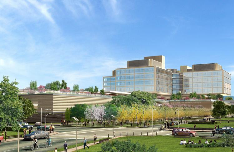 The new campus of Stanford Hospital & Clinics, scheduled to open in 2018, will get the lion's share of the funds, or $700 million.