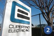 No. 2: Cupertino Electric Inc.  Address: 1132 N. Seventh St., San Jose 95112 Number of local electricians in Silicon Valley: 718  Top local executive: John Boncher, president and CEO