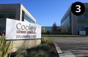 No. 3: Cooley LLP  Address: 3175 Hanover St., Palo Alto 94306 Number of full-time local lawyers in Silicon Valley: 167  Top local partners: Stephen Neal and John Dwyer