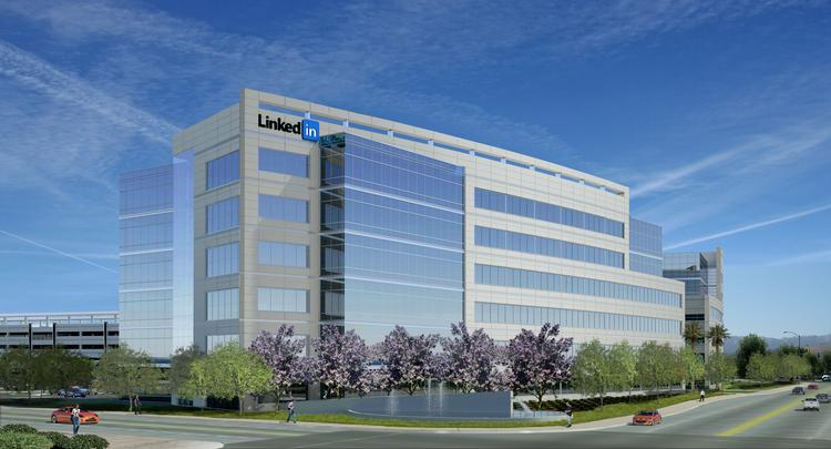 LinkedIn has confirmed its plans to move into 560,000 square feet of new office being built by the DeNapoli Companies.