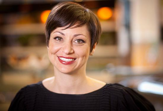 Maisie Greenawalt, vice president of strategy at Bon Appetit Management Co., is a 2012 Woman of Influence.